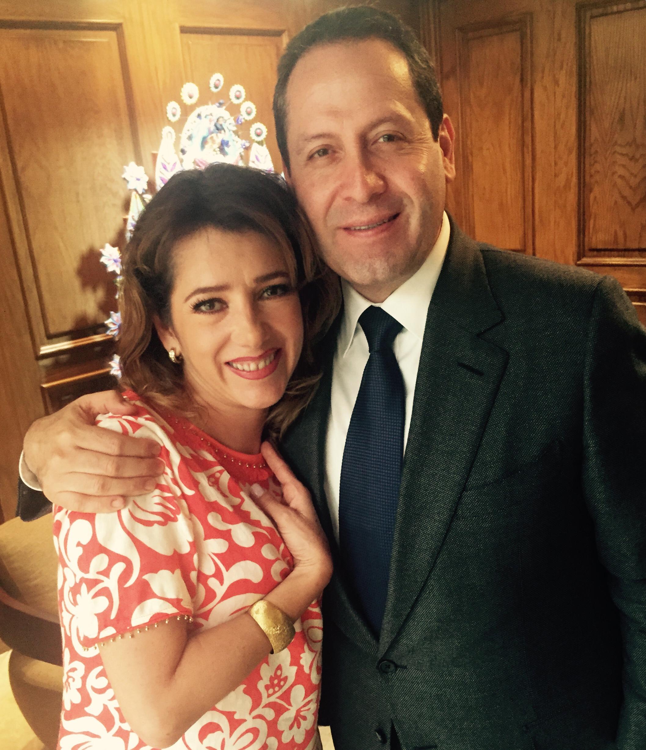 Con Eruviel Avila Gobernador Edo de Mex