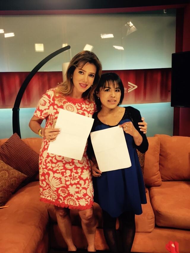 Rosi Orozco y Zunduri  (Trata de personas) /. Politica