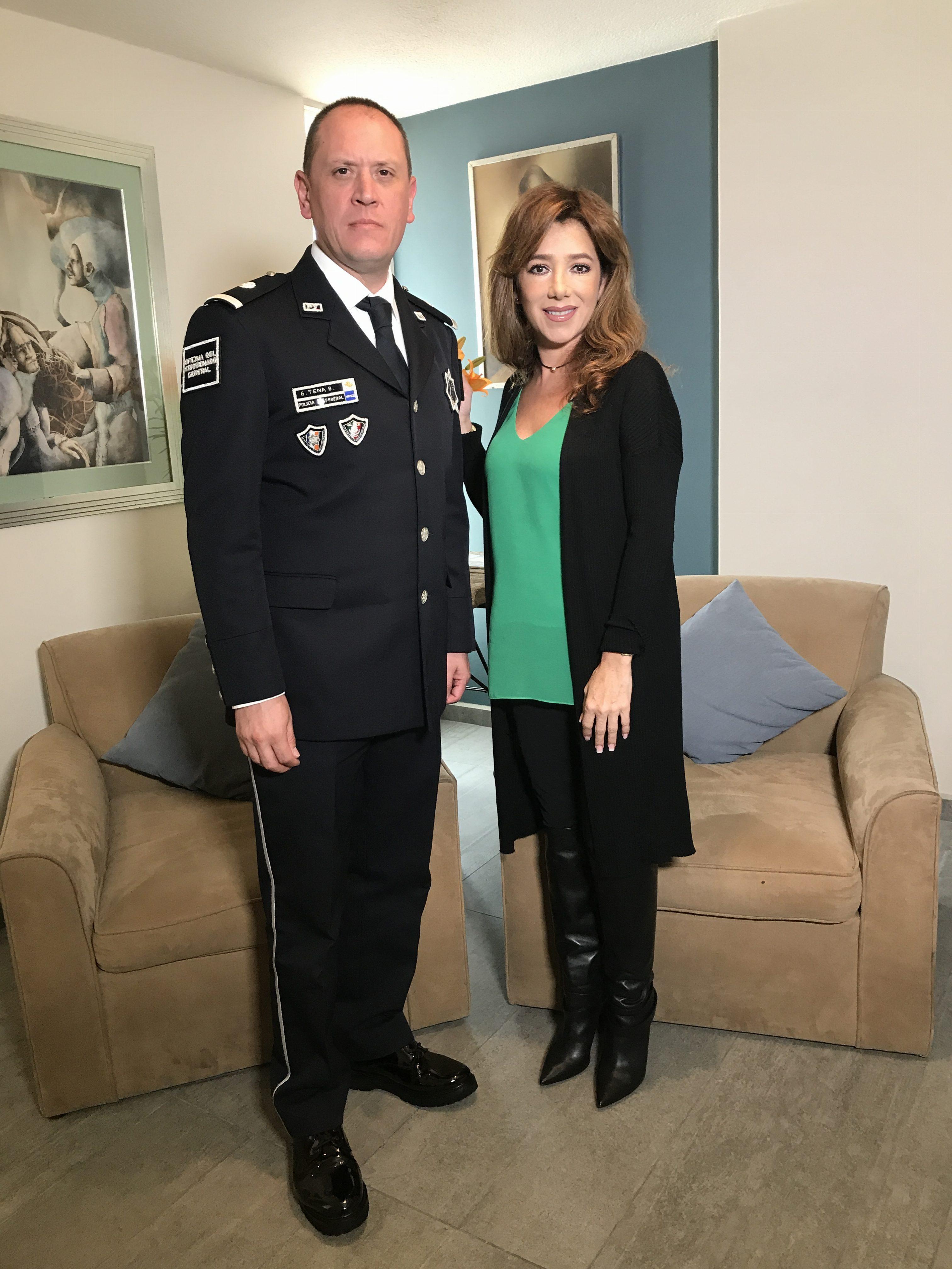 INSPECTO GUILLERMO TENA BAÑULS Director de vinculación institucional de la Policía Federal