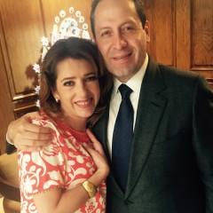 Con Eruviel Avila / Gobernador Edo de Mex