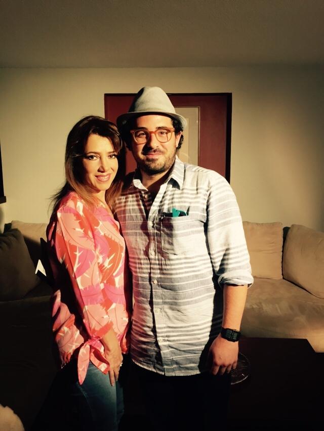 Con Javier Solorzano Casarin  Cineasta