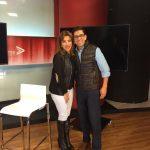 Chef Omar Sandoval y Claudia Arellano