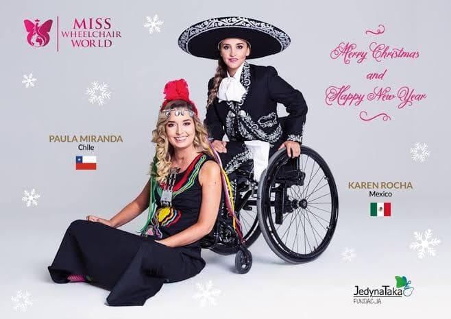 MISS WHEELCHAIR MÉXICO 2019: APOYANOS CON UN DONATIVO