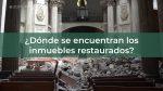 RECONSTRUCCIÓN DEL PATRIMONIO CULTURAL TRAS SISMO DE 2017